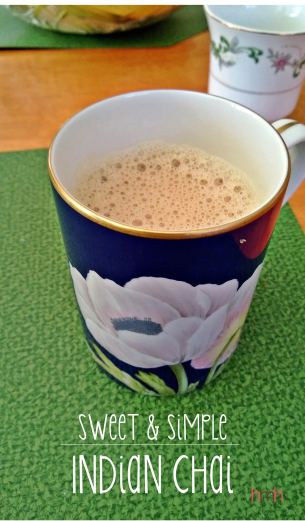 sweet and simple indian chai