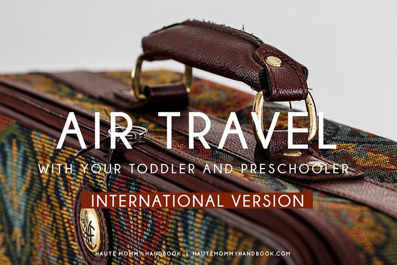 air travel-toddler-preschooler