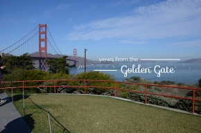 travel guide: views from the golden gate