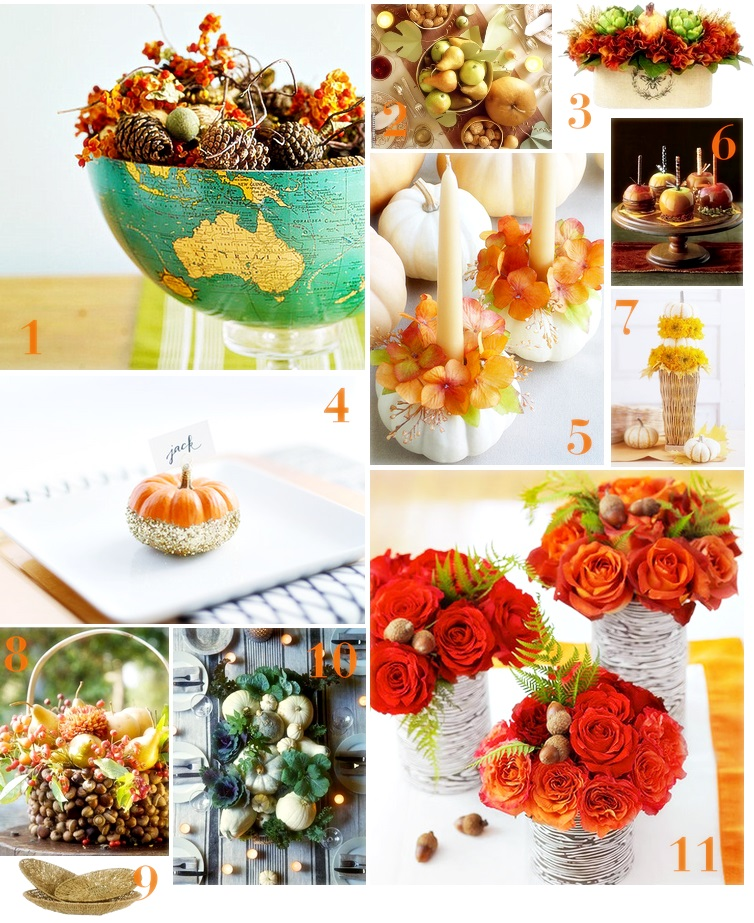 thxgiving tablescapes