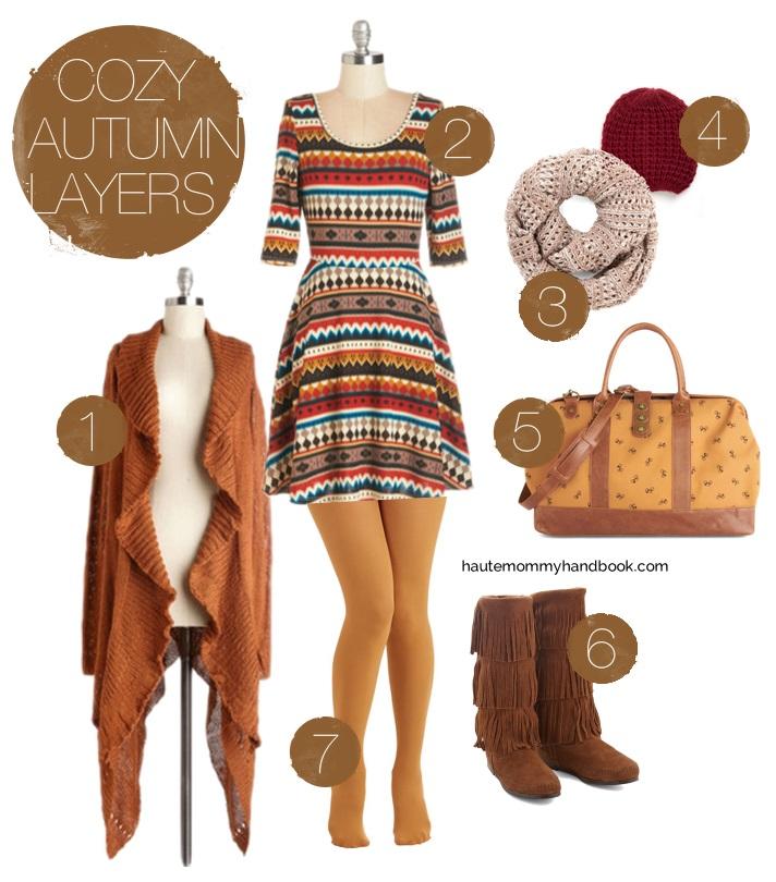 cozy autumn layers