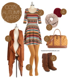 style sheet: cozy autumn layers