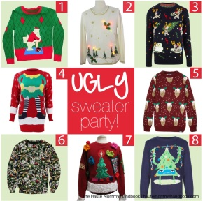 style sheet: ugly sweater party!