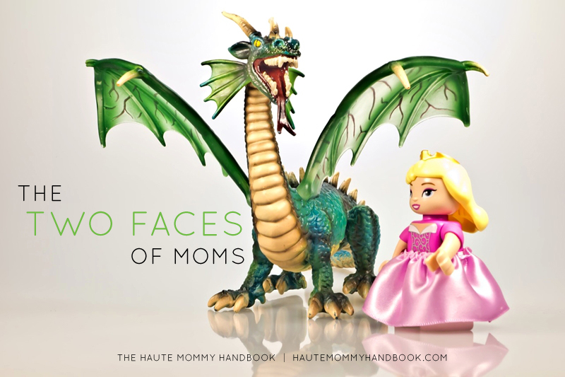 the two faces of moms