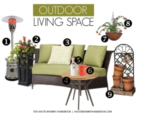 style sheet: outdoor livingspace