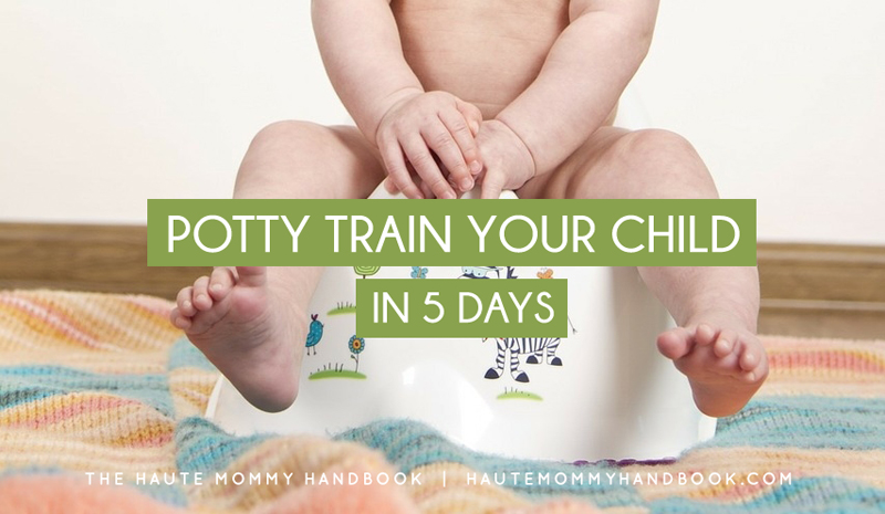 potty train your child in 5 days