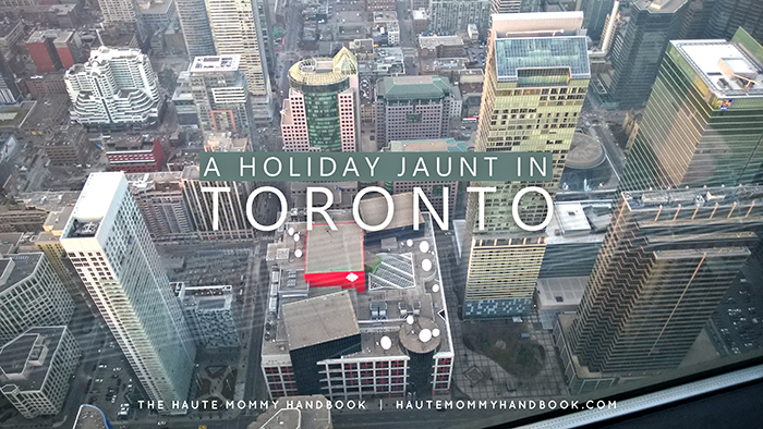 a holiday jaunt in toronto